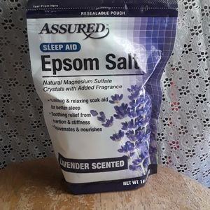 Other - Assured sleep Aid Epsom Salt Lavender Scented